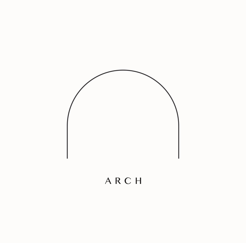 archway depot. linework icon branding elements includes arch shape for location of studio. branding design by Brittany Hurdle beckon webeckon