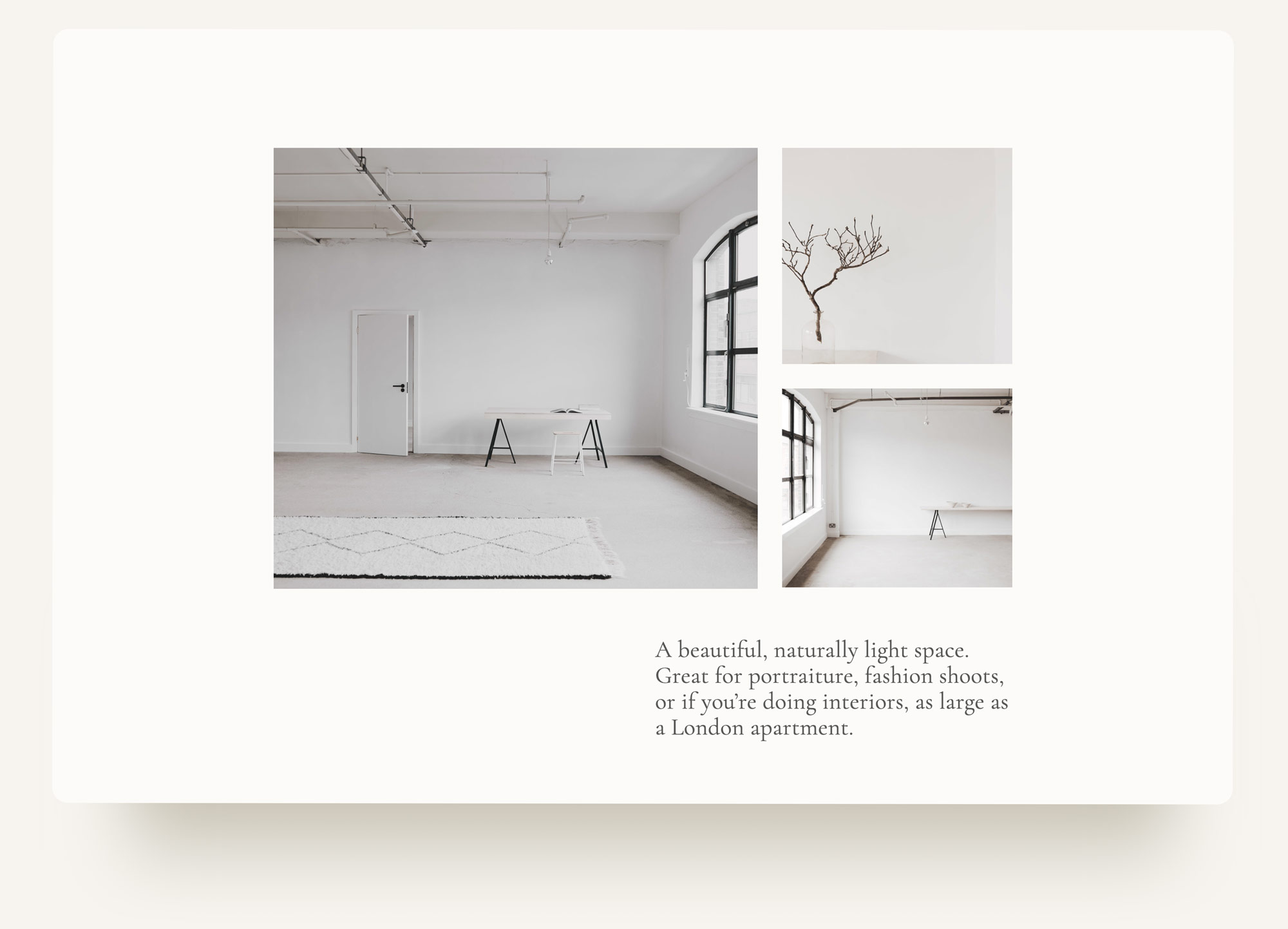 Pull quote image grid website on squarespace for Archway Depot. web design by Brittany Hurdle beckon webeckon