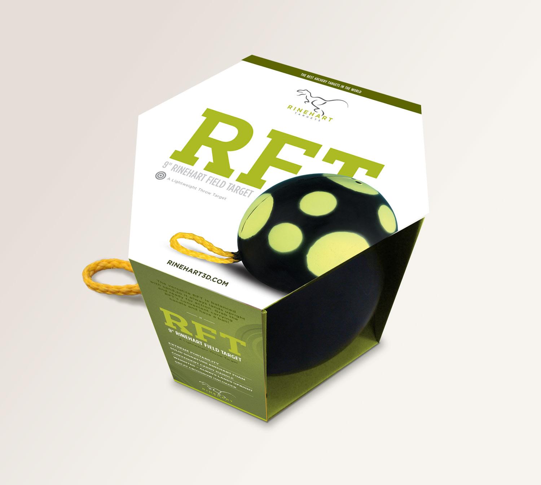 rinehart target archery packaging design modern typographic by brittany hurdle beckon webeckon