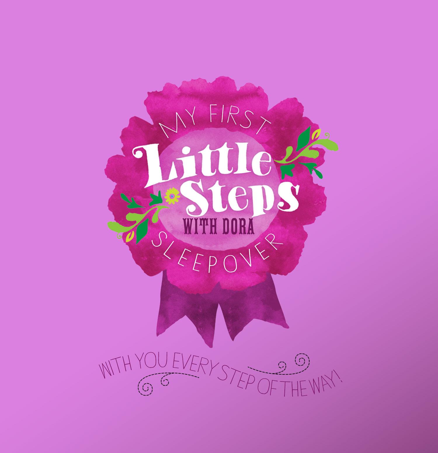Dora the Explorer campaign rosette little steps design Brittany Hurdle fmg