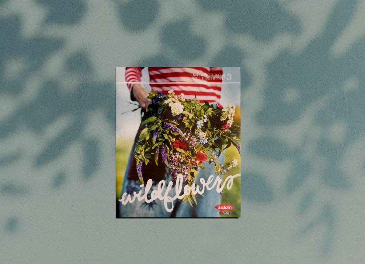 editorial paint brochure magazine design akzo nobel handpainted type by brittany Hurdle beckon webeckon